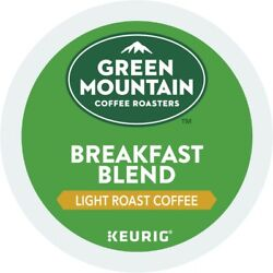 Green Mountain Coffee Breakfast Blend Keurig K Cup Pod Light Roast 96 Count $39.99