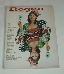 February 1966 ROGUE MEN#x27;s MAGAZINE JODY FLEMING PHOTOS ONLY SURE HANGOVER CURE $9.99