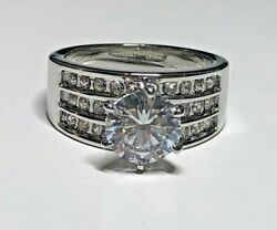 Charter Club Ring Size 5 Silver Tone New Over Stock With Out Tags $4.00