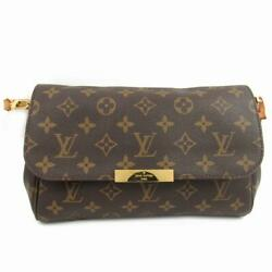 LOUIS VUITTON Favorit MM shoulder bag Crossbody M40718 Monogram Used Vintage LV