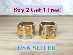 Love Screw Band Ring For Women And Men Perfect Gift *Buy 2 Get 1 FREE*