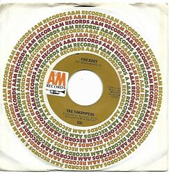 SANDPIPERS THE  (For Baby  bw  La Bamba)  A&M 835 = VINTAGE record