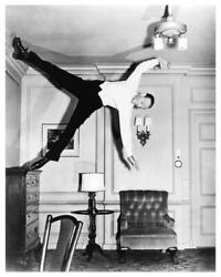 FRED ASTAIRE wall dance ROYAL WEDDING great 8x10 NEGATIVE with photo ne241 $24.95