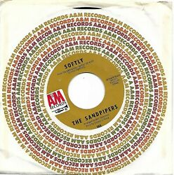 SANDPIPERS THE  (Softly  bw  Cancion De Amor Wanderlove) A&M 968 =VINTAGE
