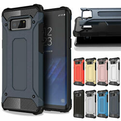 Hybrid Defender Armor Rugged Phone Case Cover For Samsung Galaxy Note 9 8 5 4