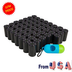 1040 Black Poop Bag Dog Waste Pick Up Clean Bags Coreless.Made in USA