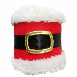 4pcs Christmas Napkin Rings Belt Party Table Dinner Decoration Ornaments