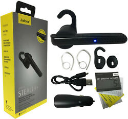 Jabra Stealth+ Wireless Headset Dual Mic Noise Cancelling & Dual Car Charger