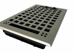 Madelyn Carter™ Artisan Brushed Nickel Floor and Wall Vent Covers Steel $47.30