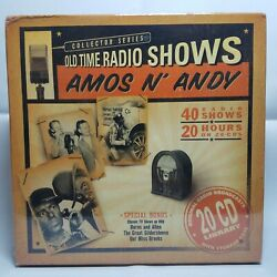 Old Time Radio Shows: Amos n' Andy (20 CD's 2004) 40 Radio Shows Sealed