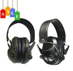 Electronic Earmuffs Hearing Protection Noise Reduction and Sound Amplification