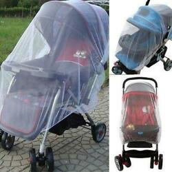 Infants Baby Stroller Pushchair Cart Mosquito Insect Net Safe Mesh Buggy Crib Ne