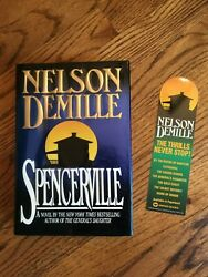 NELSON DEMILLE - Spencerville - 1st Ed - Signed - Matching Bookmark