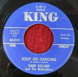 HANK BALLARD & MIDNIGHTERS - 7
