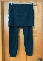 Cabi #3210 Spacedye M#x27;Leggings Skirted Size XS Stretch Pull On Wome Black $43.00