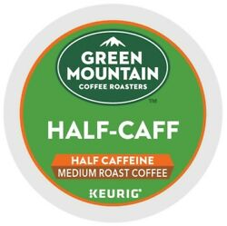 Green Mountain Coffee Half Caff Keurig K Cup Pod Medium Roast 96 Count $39.99
