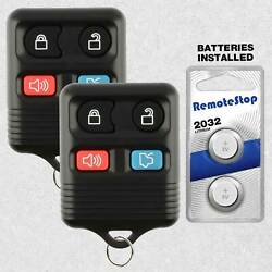 2 For 2006 2007 2008 2009 2010 2011 2012 Ford Focus Fusion Car Remote Key Fob $7.95