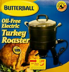 MasterBuilt Butterball Oil-Free Electric Turkey Fryer - Model 20100809 - NEW