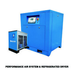 133CFM Refrigerated Air Dryer +22KW 30Hp Rotary Screw Spray Air Compressor 60HZ $5,600.00