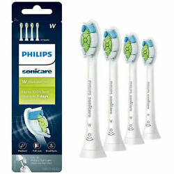 4 Original Philips Sonicare HX606465 Diamond Clean White Toothbrush Brush Heads