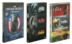 Marvel's The Avengers 1-3 Captain America 1-3 Thor 1-3 1 2 3 Collection