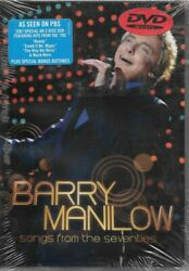 BARRY MANILOW ~ SONGS FROM THE SEVENTIES ~ 2 DVD SET RHINO BRAND NEW