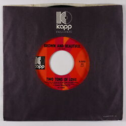 CrossoverNorthern Soul 45 - Two Tons Of Love - Brown & Beautiful - Kapp VG+ mp3