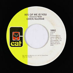 70s Soul Funk 45 - Gwen McCrae - 90% Of Me Is You - Cat - mp3