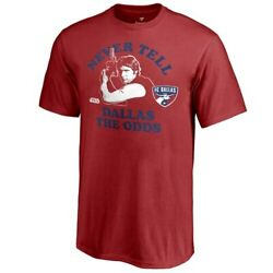 Fanatics Branded FC Dallas Youth Red Star Wars Never Tell the Odds T-Shirt