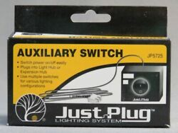 WOODLAND SCENICS AUXILIARY SWITCH FOR JUST PLUG LIGHTING SYSTEM WDS5725 NEW $9.44
