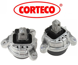 Engine Motor Mount Hydraulic Lt & Rt 2pcs OEM Corteco BMW 528i 2.0L 2012-2016 $133.88