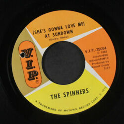 SPINNERS: (she's Gonna Love Me) At Sundown  Message From A Black Man 45 (co