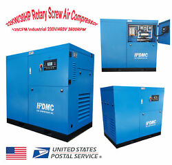 22KW30HP 230V460V Rotary Screw Air Compressor Industrial 3600RPM 125CFM 3Phase