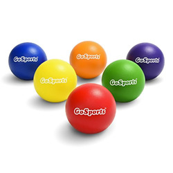 6 Pack Soft Touch Foam Dodgeball Set for Kids & Adults with Mesh Carry Bag NEW