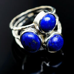 Lapis Lazuli 925 Sterling Silver Ring Size 6.25 Ana Co Jewelry R973703F