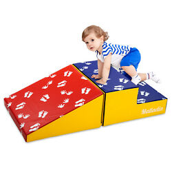 Foam Kids Climber Play Sets Beginner Toddler Climber with Slide Stairs and Ramp