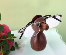 Wooden Spectacle Holder Nud Shape Eyewear Holder Perfect to Keep Your Specs