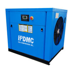 20HP Variable Speed Drive Rotary Screw Air Compressor 39cfm 230V 13 Phase 125ps