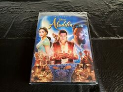 Aladdin Will Smith Movie! (DVD 2019) Brand New Free Shipping!