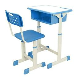 Adjustable 3 Colors Student Desk and Chair Set Child Study Table NEW $75.95