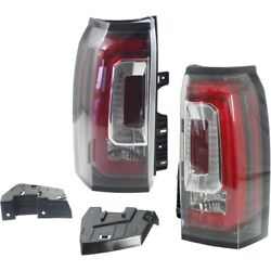 Set of 2 Tail Lights Lamps Left-and-Right LH & RH GM2800268C GM2801268C Pair