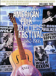The American Folk Blues Festival '62- '66 - Volume Two (DVD 2003) Exc. Rare OOP