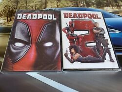 Deadpool 1 and 2 DVD Movie Bundle New & Sealed Free Shipping!