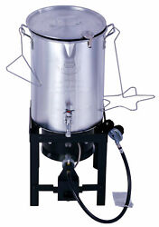 Turkey Fryer 30 QT Deep Fryer Pot & Gas Stove Propane Burner Stand Stockpot