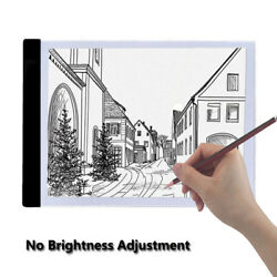 ARILUX Christmas LED Tracing Light Box Board Artist Tattoo A4 Drawing Pad Table
