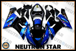 For 2005-06 ZX-6R ZX636 ABS Plastic Injection Mold Full Fairing Set Bodywork P11 $379.00