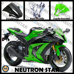 For 2011-15 ZX-10R ZX10 ABS Plastic Injection Mold Full Fairing Set Bodywork P06 $319.00