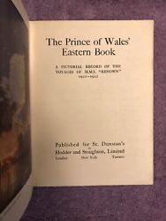 THE PRINCE OF WALES EASTERN BOOK - 1st ed. (1923) SCARCE w GREAT PHOTOGRAPHS
