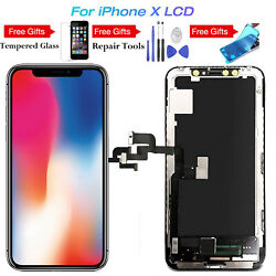 OLED Black LCD Screen 3D Touch Digitizer Display Frame Replace For  iPhone X 10  $44.99