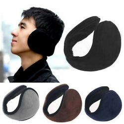 Ear Muffs Warmers Fleece Winter Ear Earwarmer Mens Womens Behind the Head Ban